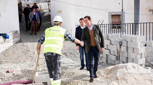 Diputación agiliza obras en Almócita y Laroya para  crear oportunidades