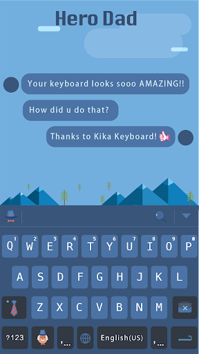 Hero Dad for kika keyboard