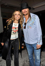 Photo: DETROIT, MI - JANUARY 15:  (Exclusive Coverage) Sheryl Crow and Kid Rock backstage at Ford Field on January 15, 2011 in Detroit, Michigan.  (Photo by Kevin Mazur/WireImage)