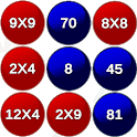 Breaking Math: Multiplication Challenge icon
