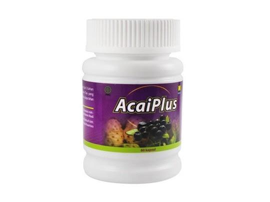 ACAI PLUS original asli nasa kapsul herbal pelangsing alami diet sehat tanpa efek samping aman