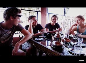 Photo: frčíme si na mátovým čaji dál