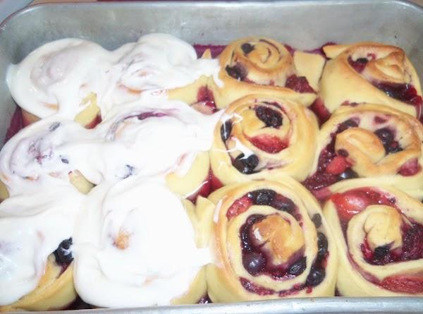 Mixed Berry Rolls Recipe