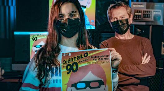 Una ilustración digital gana el concurso de carteles del 'Cuéntalo'