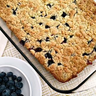 Lemon Blueberry Dump Cake