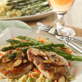 Pork Tenderloin Amandine Recipe