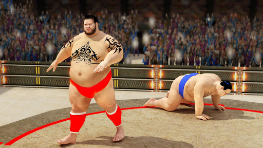 Sumo wrestling Revolution 2017: Pro Stars Fighting  screenshots 2