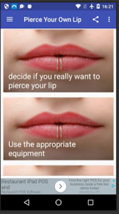 Pierce Your Own Lip Apps On Google Play