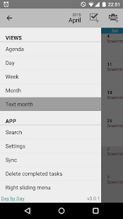 Day by Day Organizer - screenshot thumbnail