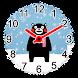 くまモンの紙アナログ時計ウィジェット無料