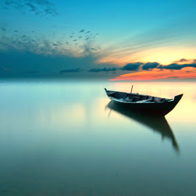 Empty Space by Arief Wardhana - Transportation Boats