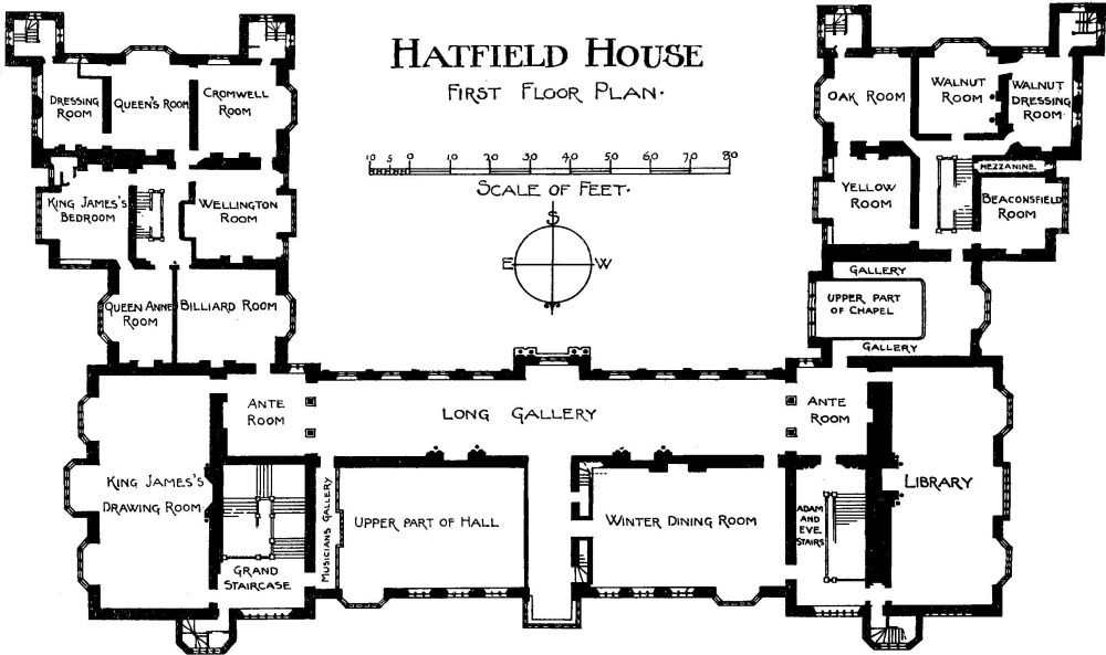 Cote de texas the crown set locations part iii for Marlborough house floor plan