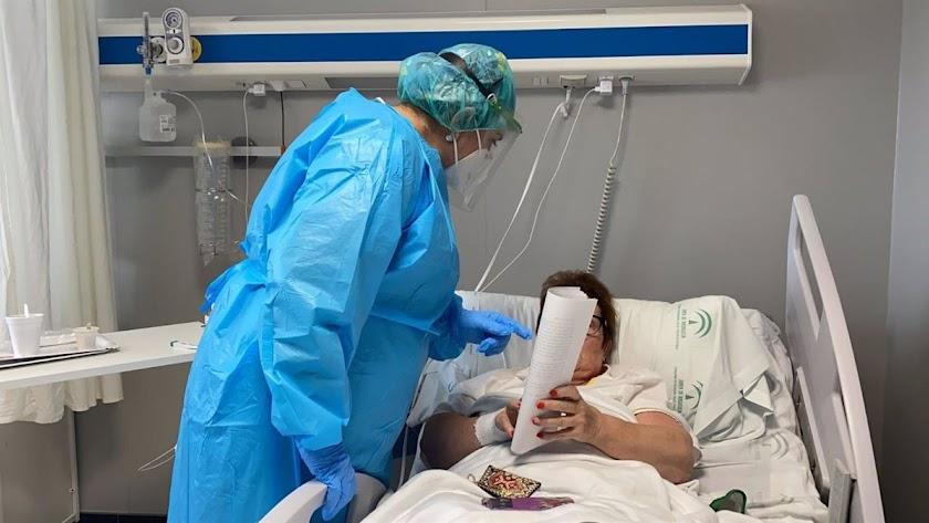 La gran mayoría de los hospitalizados no están vacunados en Andalucía.