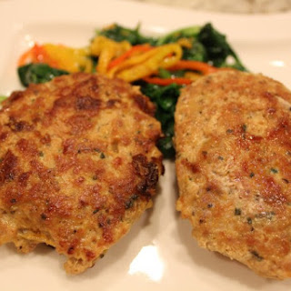 Ground Chicken Patties.