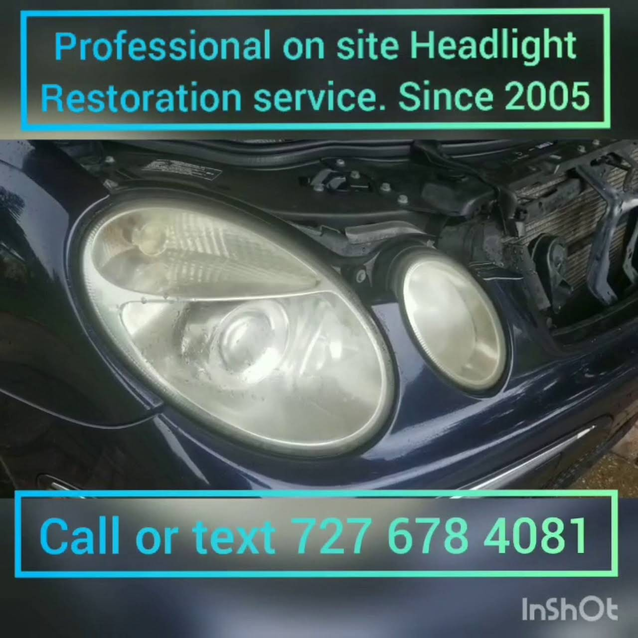 Clear As Water Mobile Headlight Restoration - The Best