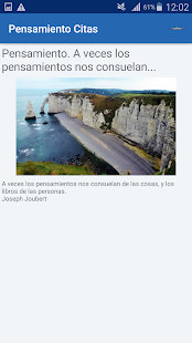 Download Pensamiento Citas y frases famosas For PC Windows and Mac apk screenshot 2