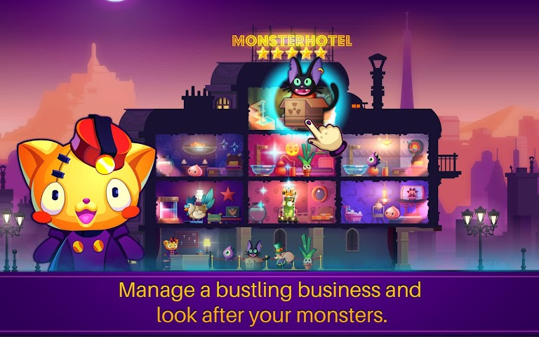 android Monster Hotel Screenshot 1