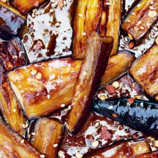 Miso & Sesame Glazed Eggplant Recipe