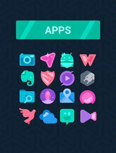 Screenshot for Simplit - Icon Pack in Hong Kong Play Store