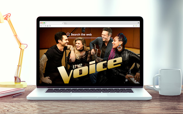 The Voice New Tab Theme