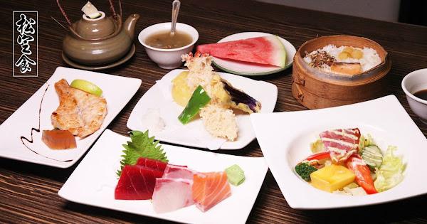 """台南美食桃山日本料理熱銷""""松定食""""天天供應,七道經典日式料理只要三百多元"""