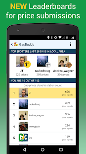 6 GasBuddy - Find Cheap Gas App screenshot