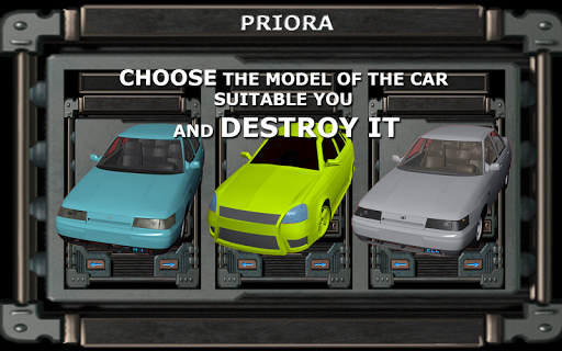 Car Crash VAZ Lada 2110 Priora