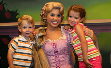 Photo: And a final shot with Rapunzel at the Meet the Princesses at Town Square Theater