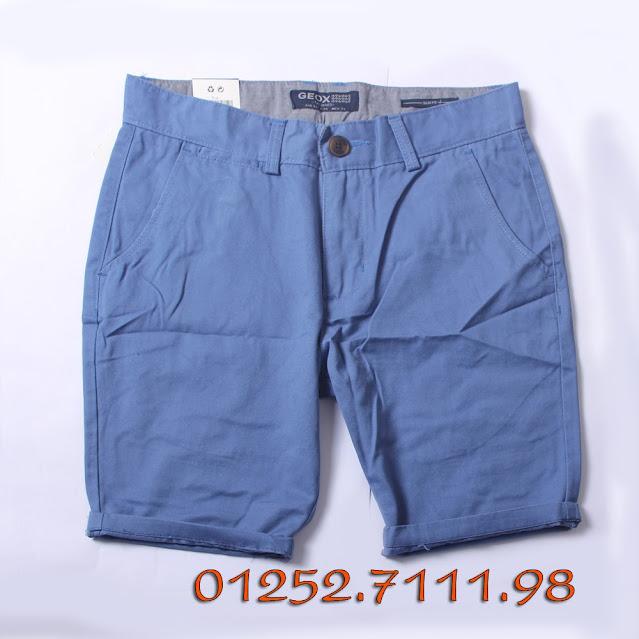 Bán buôn, bán sỉ quần short (quần ngố) kaki nam cao cấp ,quần short nam VNXK, made in vietnam thương hiệu GEOX