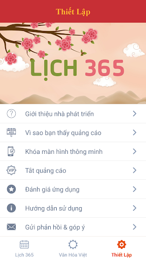 Lich 365 - Lich Van Nien 2018 - Tu Vi 2018 app (apk) free download for Android/PC/Windows screenshot