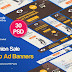Fashion Sale Banners Ad - 30 PSD [02 Sets] Free Download