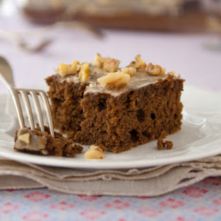 Gluten Free Gingerbread Sheet Cake.