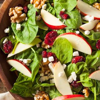 Cranberry Walnut Salad.