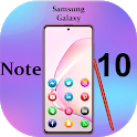 Themes for Samsung Galaxy Note 10: Note10 launcher icon