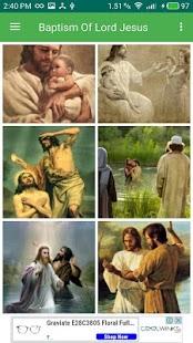 Baptism Of Lord Jesus Christ - náhled