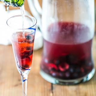 Cherry Blueberry Sparklers {Naturally Sweet}
