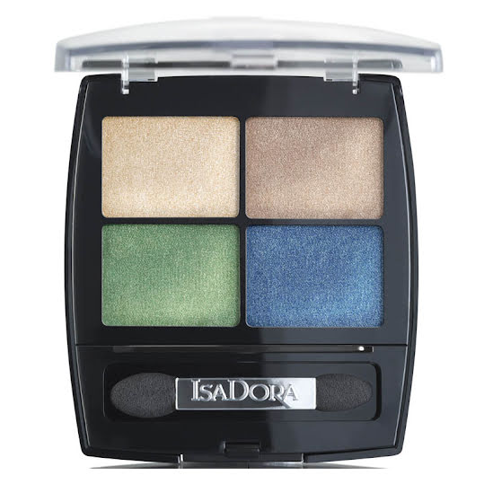 Isadora Eye Shadow Quartet 07 Tropical Garden
