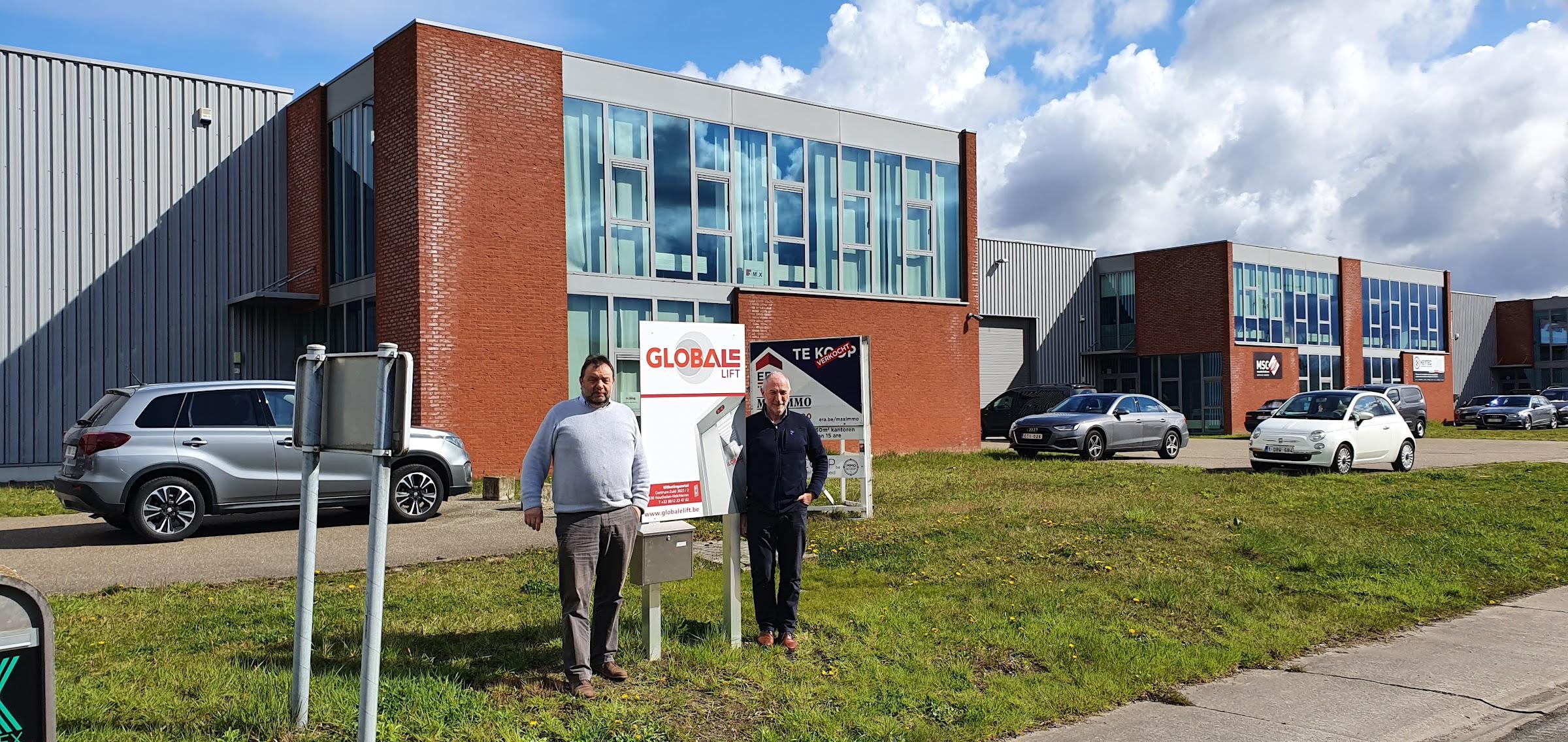 Globale bv, de specialist in maatwerk van liften (o.a. autoliften, huisliften, keukenliften, goederenliften)- nieuwe kantoren