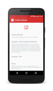 Oneplus Manager- screenshot thumbnail
