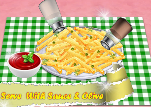 Code Triche Crispy French Fries Recipe - Top Chef Cooking Game apk mod screenshots 5