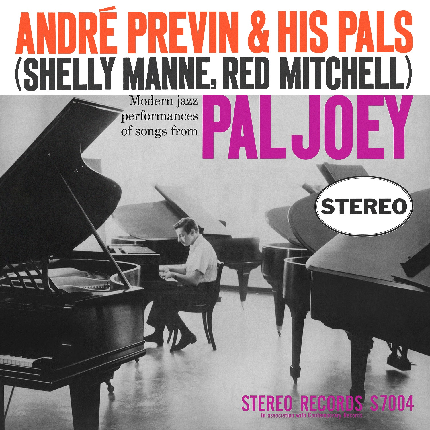 André Previn, Red Mitchell, Shelly Manne