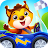 Car game for toddlers - kids cars racing games Icône