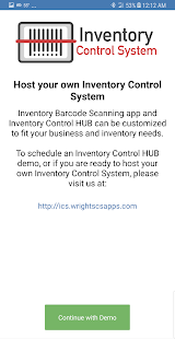 Inventory Control System- screenshot thumbnail