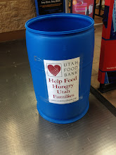 Photo: This is right at the entrance - I love that because it makes you think about it before you make your purchase, and it's right there in case you pick up something to donate. No extra trip necessary.