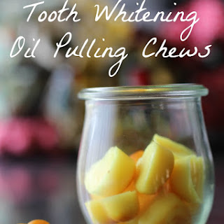 Teeth Whitening With Oil Pulling Chews