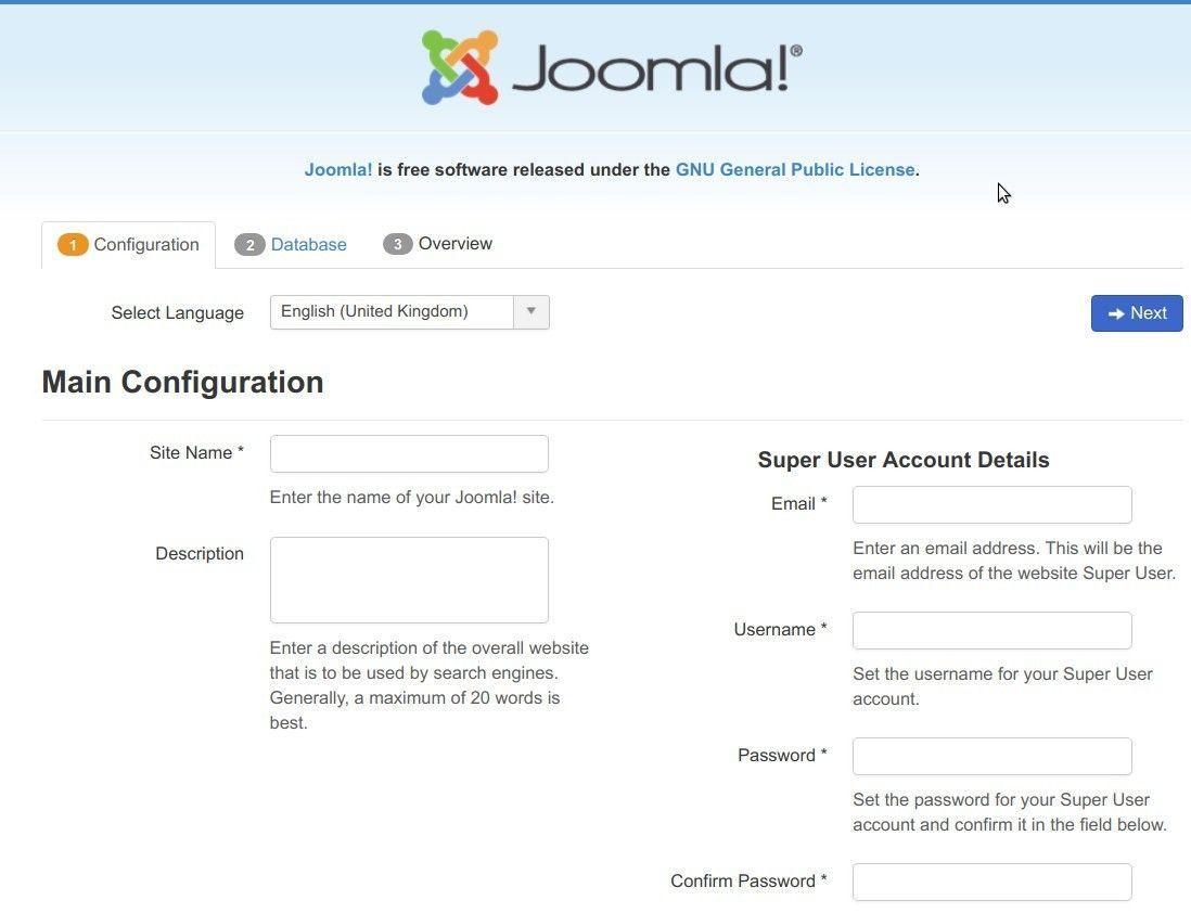 How to Manually Install Joomla Using cPanel - Joomlashack