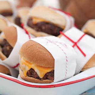 Bacon Cheeseburger Sliders.