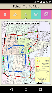 Tehran Traffic Map - náhled