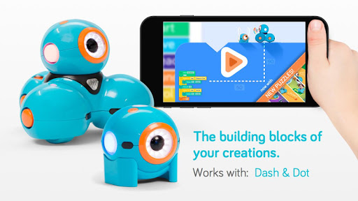 Blockly for Dash Dot robots