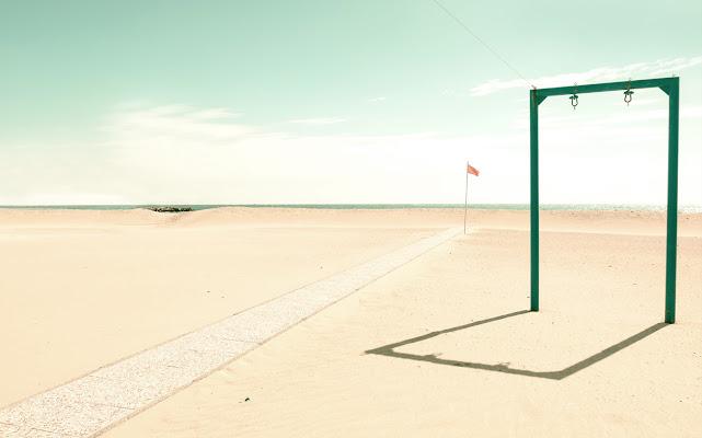 Spiaggia minimale di Caterina Ottomano